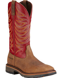 Ariat Men's Workhog Tall II Work Boots, , hi-res