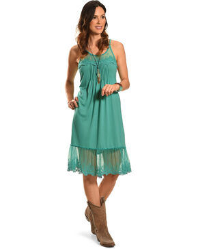 Angel Ranch Women's Blue Endless Summer Dress , Blue, hi-res