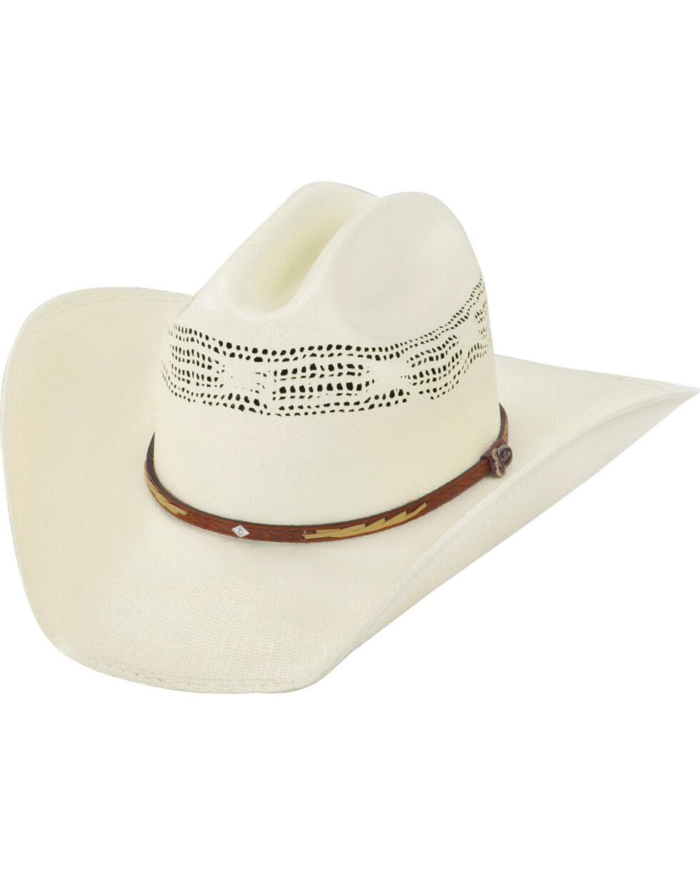 Justin 20X Flagstaff Straw Cowboy Hat, Natural, hi-res