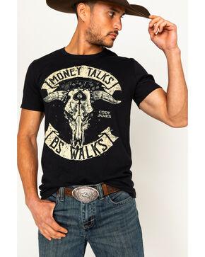 Cody James Men's Money Talks Short Sleeve T-Shirt, Black, hi-res