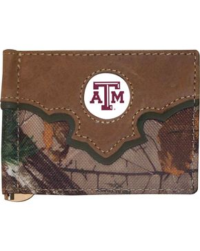 Texas A&M Camo Print Concho Wallet, Camouflage, hi-res