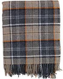 Pendleton Eco-Wise Wool Fringed Throw Blanket, , hi-res