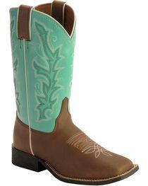 Justin Kid's Western Boots, , hi-res