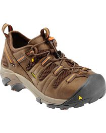 Keen Footwear Men's Atlanta Cool Steel Toe WP Work Shoes, , hi-res
