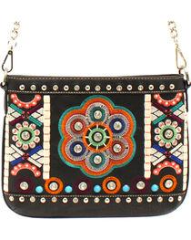 Blazin Roxx Women's Embroidered Crossbody Bag, , hi-res