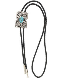 Cody James® Men's Aztec Turquoise Bolo Tie, , hi-res