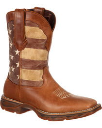 Lady Rebel by Durango Women's Faded Union Flag Western Boots, , hi-res