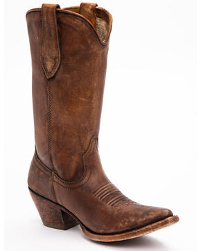 Ariat Women's Josefina Western Boots, Brown, hi-res