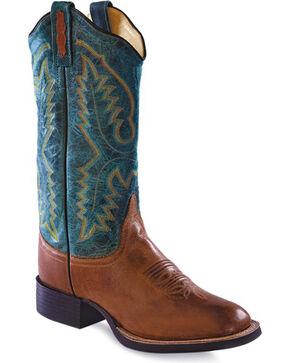 Jama Women's Western Boots, Tan, hi-res
