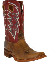 "Nocona Men's 11"" Vintage Embroidered Square Toe Western Boots, , hi-res"