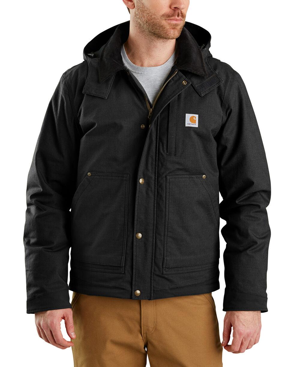Carhartt Men's Full Swing Steel Jacket - Big & Tall , Black, hi-res