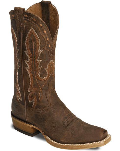 Ariat Men's Hotwire Western Boots, Brown, hi-res
