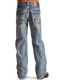 Rock & Roll Cowboy Boys' Embroidered Boot Cut Jeans, , hi-res
