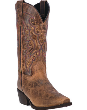 Laredo Women's Cassie Fashion Boots, Taupe, hi-res
