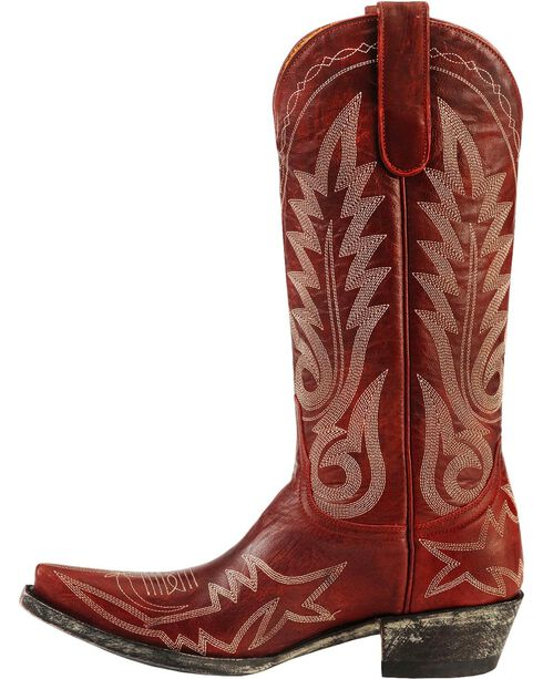 Old Gringo Women's Nevada Western Boots, Red, hi-res