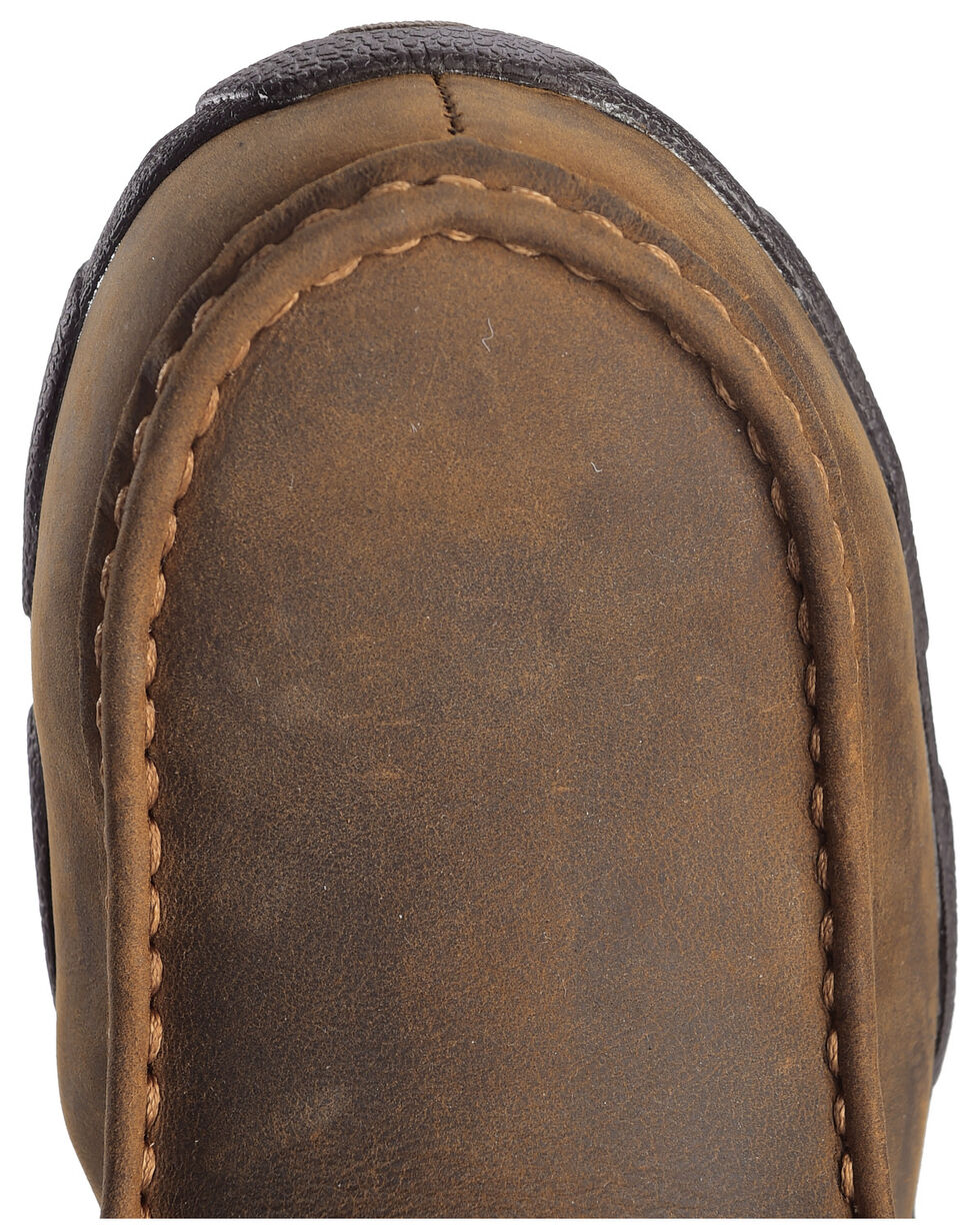 Twisted X Women's Steel Toe Driving Mocs, Distressed, hi-res
