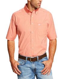 Ariat Men's Coral Elijah Short Sleeve Western Shirt - Tall , , hi-res