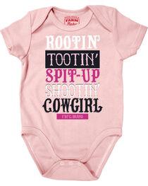 Farm Girl Infant Girls' Rootin' Tootin' Cowgirl Creeper, , hi-res