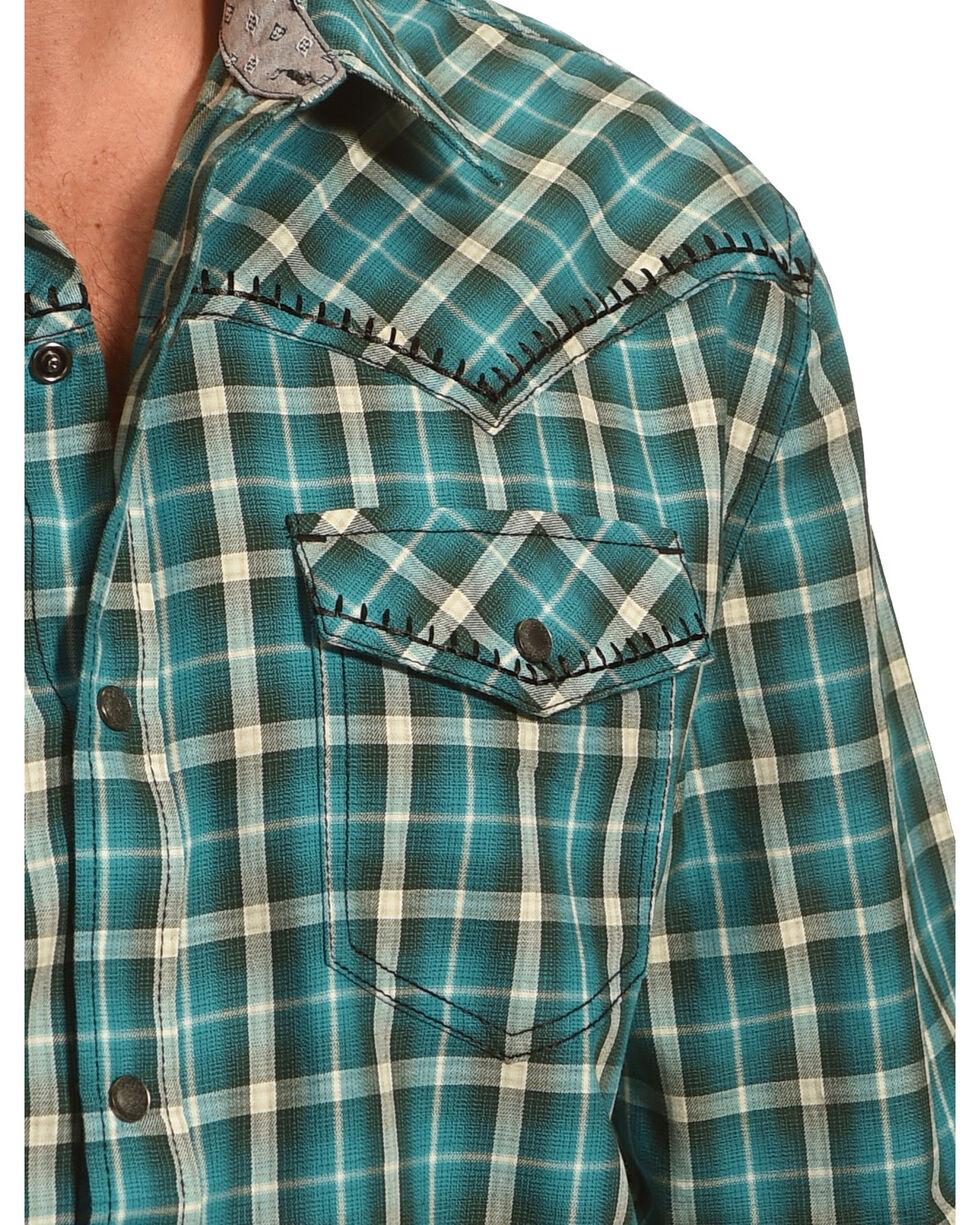 Moonshine Spirit Men's Plaid Long Sleeve Shirt, , hi-res