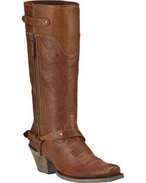 Ariat Women's Wild Flower Western Fashion Boots, Wood, hi-res