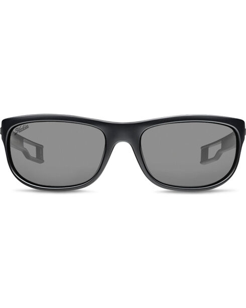 Hobie Men's Grey and Satin Black Cruz-R Polarized Sunglasses , Black, hi-res