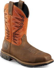 Red Wing Irish Setter Men's Rust Marshall Work Boots - Steel Toe , , hi-res