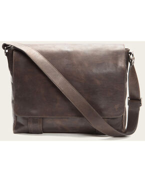 Frye Men's Logan Messenger Bag , Slate, hi-res
