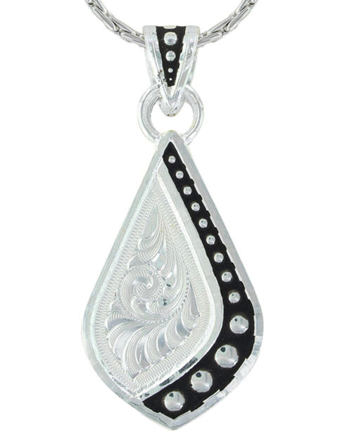 Montana Silversmiths Women's Silver The Path I Take Necklace , Silver, hi-res