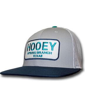 Hooey Men's Texas Baseball Cap, Grey, hi-res