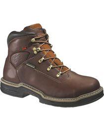 Wolverine Men's Buccaneer MultiShox® Waterproof Work Boots, , hi-res