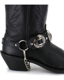 Almax Women's Studded Leather Boot Bracelet, , hi-res