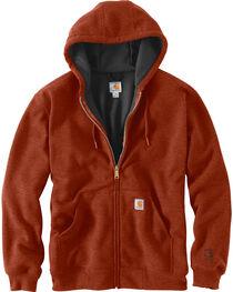 Carhartt Men's Rain Defender Rutland Thermal-Lined Zip-Front Sweatshirt , , hi-res