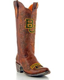 Gameday Baylor University Cowgirl Boots - Pointed Toe, , hi-res