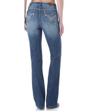 Wrangler Aura Women's Instantly Slimming Booty Up Bootcut Jeans, Indigo, hi-res