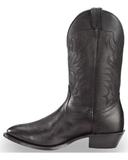 """Boulet Men's 13"""" Challenger Rubber Sole Cowboy Boots, Black, hi-res"""