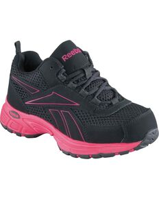 Women's Kenoy Cross Trainer Shoes Steel Toe Black 12 EE US