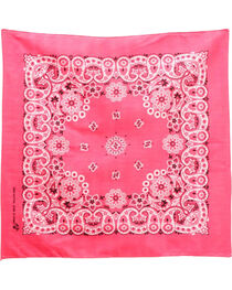 M&F Western Dark Pink Western Fashion Bandanna , , hi-res