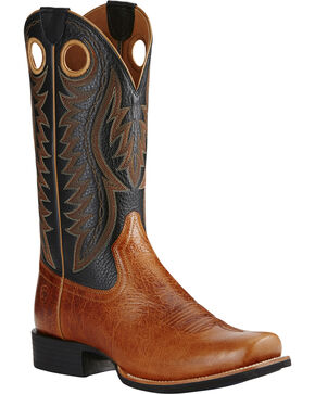 Ariat Men's Cutter Classic VX Western Boots, Tan, hi-res
