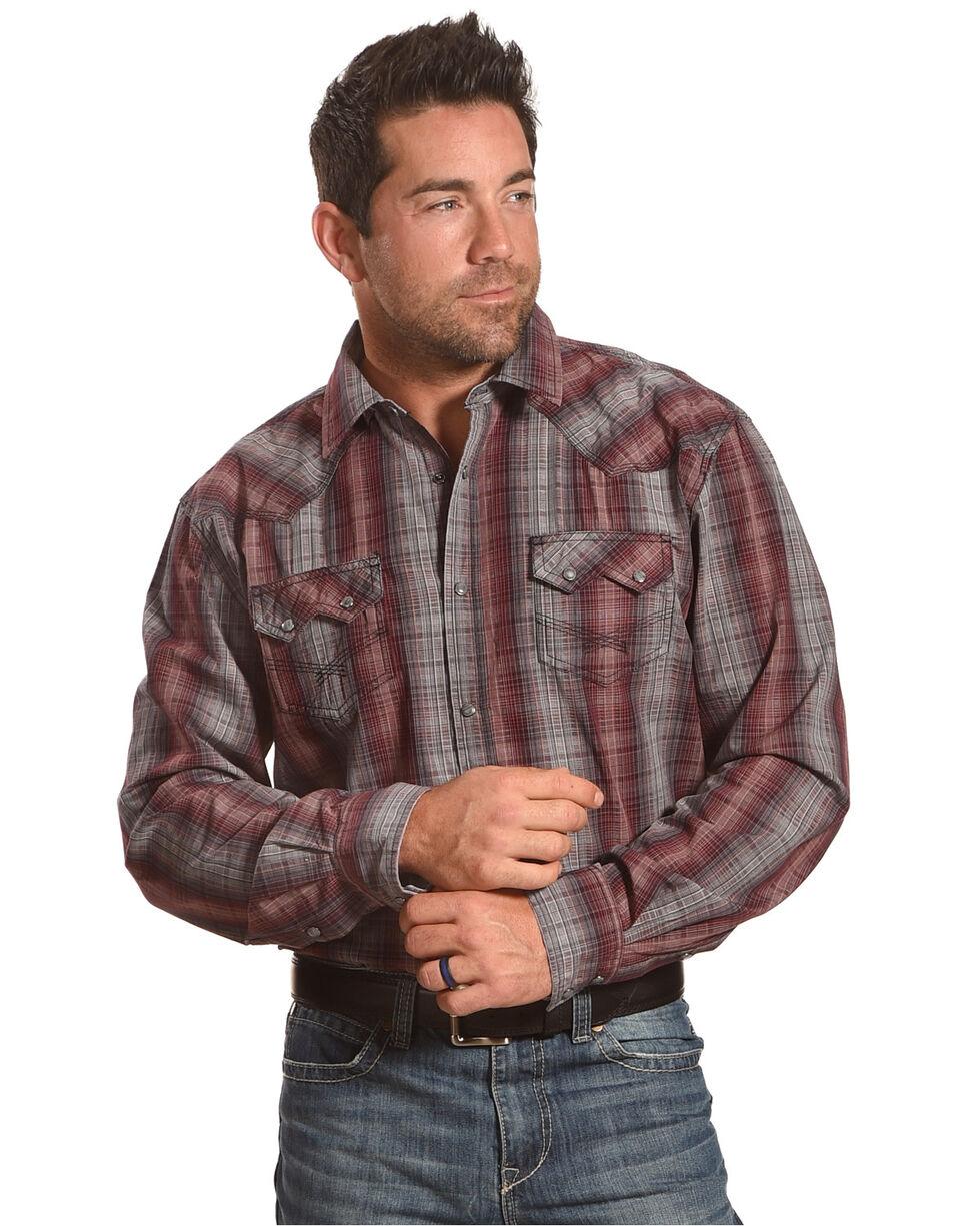 Moonshine Spirit Men's Freedom Fighter Long Sleeve Shirt, Grey, hi-res