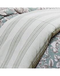 HiEnd Accents Prescott Taupe Stripe Duvet - Super Queen, , hi-res
