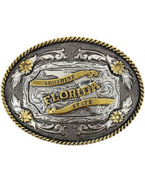 Cody James® Oval Dual-Tone Florida Buckle, , hi-res