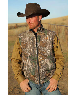 Cinch Outdoor Men's Realtree Xtra Big Game Vest, Multi, hi-res
