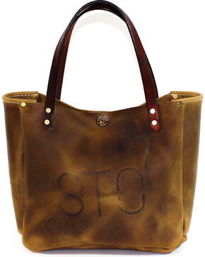 SouthLife Supply Women's Shiloh Aged Bourbon Small Bucket Bag, Brown, hi-res