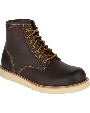 Eastland Men's Dark Brown Barron Boots, Dark Brown, hi-res