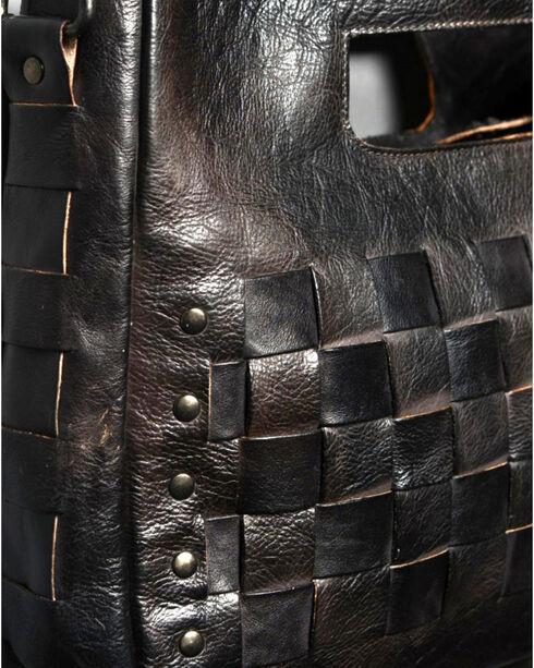 Bed Stu Women's Orchid Black Rustic Shoulder Bag, Black, hi-res