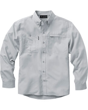 Dri Duck Men's Regulator Shirt, Grey, hi-res