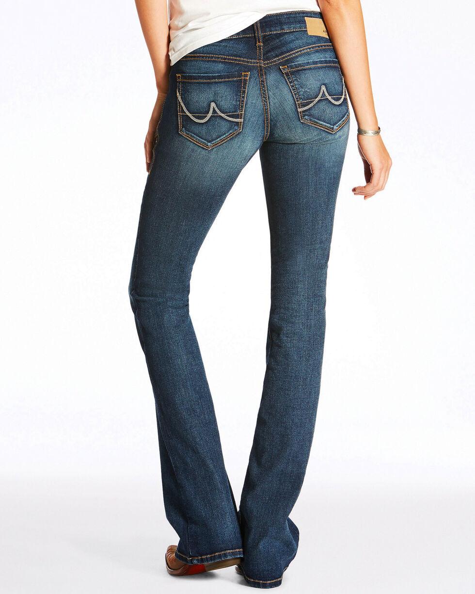 Ariat Women's High Stretch Crosshatch Evening Boot Cut Jeans, , hi-res