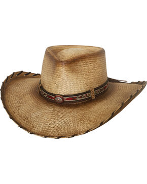 Bullhide Men's Natural Good Company Straw Hat , Natural, hi-res