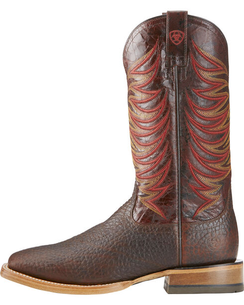 Ariat Men's High Country Square Toe Western Boots, Brown, hi-res