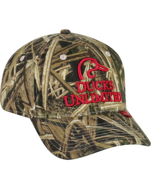 Ducks Unlimited Women's Camo Cap , Camouflage, hi-res